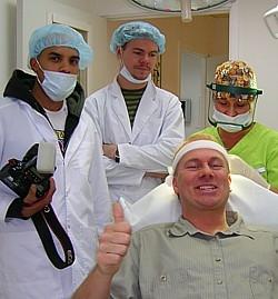Harry fick håret tillbaka! operationen utfördes av European Clinic