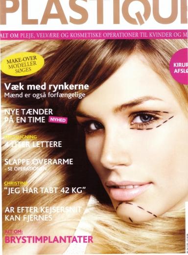 Den danska tidningen PLASTIQUE gjorde ett reportage om hår på European Clinic